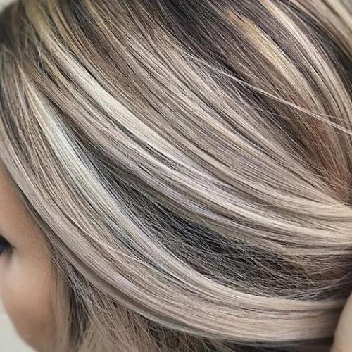 мелирование-блонд