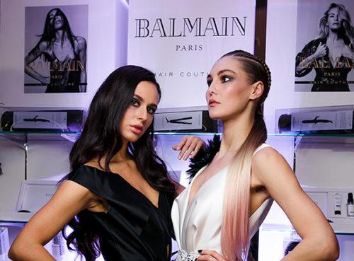 Презентация бренда Balmain Hair Couture